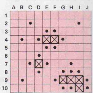 Diagramme1 300x300 - La Bataille navale