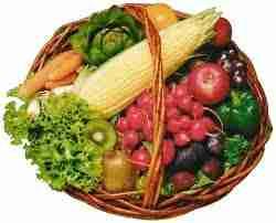 L%C3%A9gumes et fruits - Régime fruits & légumes