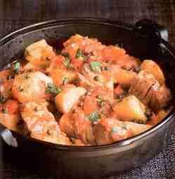 ragout de thon - Ragout de thon aux pommes de terre