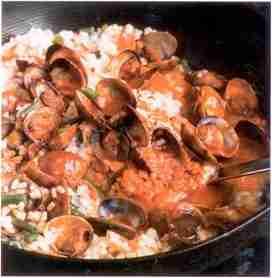 riz - Riz aux palourdes et aux legumes