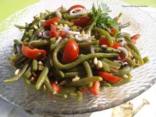 salade DE haricots - Salade de haricots verts et de pommes de terre