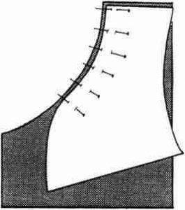 étape 1 d un volume rond 265x300 - Le travail sur un volume rond