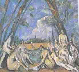 Cezanne Grandes Baigneuses - En marge de l'impressionnisme