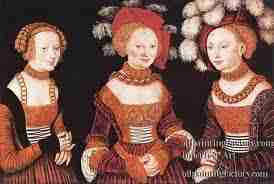 Cranach Lucas - L'Art : Cranach  Lucas, dit l'Ancien 1472-1553  Peintre