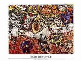 Dubuffet - L'Art : Dubuffet Jean  1901-1985  Peintre et sculpteur