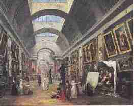 Hubert Robert La Grande Galerie du Louvre - Le musée : Fonctions et Missions