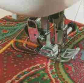 La réalisation du point de bourdon - La taie d'oreiller en 4 étapes