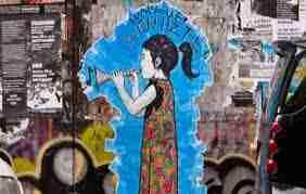 Loeuvre dart - L'art:l'oeuvre d'art vit ,vieillit et rajeunit sans cesse