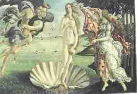 Naissance de Venus - Mythologie et allégories