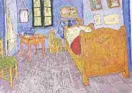 Vincent Van Gogh La Chambre de Van Gogh a Arles - La perspective classique