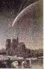 Les XVIII et XIX siècles : la comète