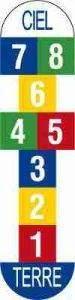 marelle 75x300 - Jeux : La marelle