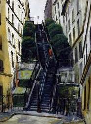 peinture sur la rue - Peinture étrange