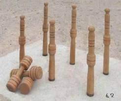 six quilles - Jeux : Les six quilles