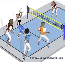 volley ball2 - Le volley-ball: