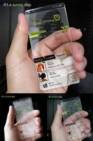 Conception futuriste Mobile phone
