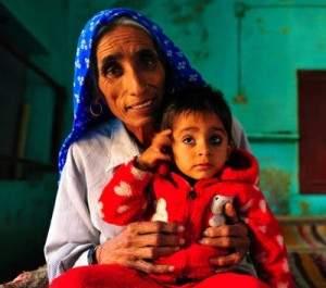 La plus vieille maman du monde