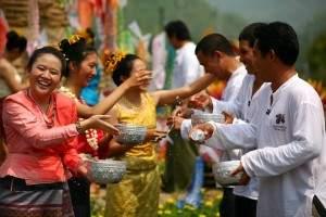 Songkran3 300x200 - Le festival de Songkran