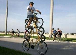 Bicyclette très funky