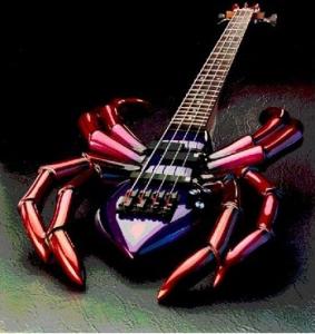 Guitares aux formes insolites