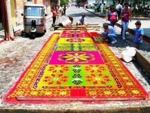 guatemala 300x225 - Célébration originale pour la pâque au Guatemala