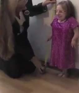 La plus petite femme du monde