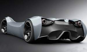 Conception futuriste de Kia