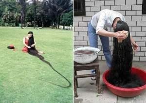 les cheveux les plus longs au monde 300x213 - Les plus longs cheveux du monde