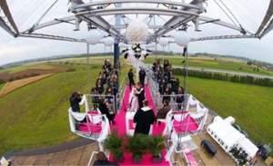 mariage original dans le ciel 300x183 - Mariage original : réception dans le ciel