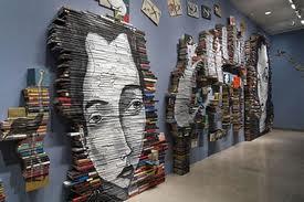 peinture livre - Les livres en art