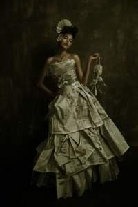 Robes de papier...