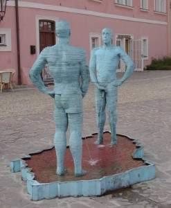 Sculpture insolite