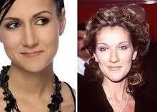 Le sosie de Celine Dion