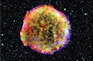 supernova 300x198 - Une violente explosion