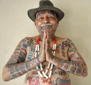 655 tatouage sur le corps