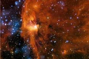 Région chaotique de l'univers