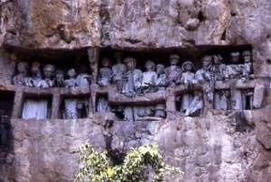 Le rite funéraire à Toraja