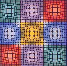 Art cinétique et Opart - Les mouvement dans la peinture : Art cinétique et Op'art