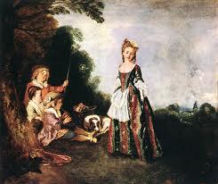 Les mouvement dans la peinture Rococo - Les mouvement dans la peinture : Rococo