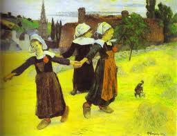 Les mouvements dans la peinture Ecole de Pont Aven - Les mouvements dans la peinture : Ecole  de Pont-Aven