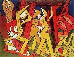 Les mouvements dans la peinture Vorticisme - Les mouvements dans la peinture : Vorticisme