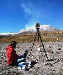 SMoune au Lascar - La surveillance volcanique: les moyens de surveillance des volcans