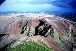 Tarawera - Les volcans :Le Merapi