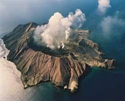 White Island - Les volcans en Asie et Océanie: White Island