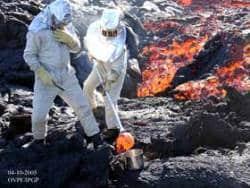 autravail 13 - Le volcanologue: le géochimiste et le géophysicien