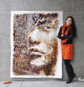 Peinture avec le café