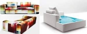 Sofas insolites
