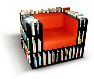 Sofa bibliothèque