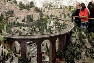 Le chemin de fer le plus grand dans le monde