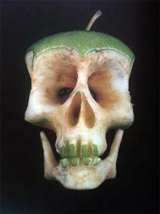 Crâne-pomme !